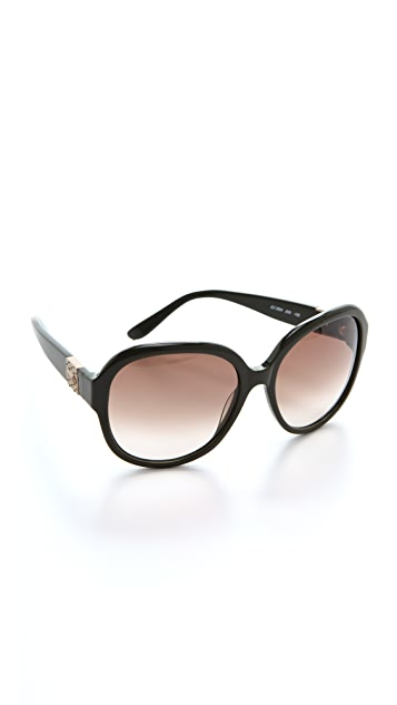 Chloe Cirse Rounded Sunglasses