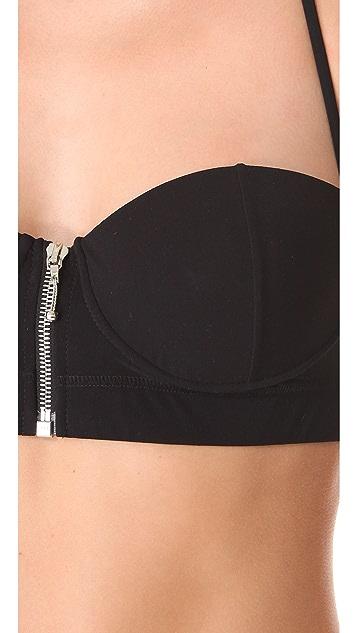 Chloe Swimwear Zip Bikini