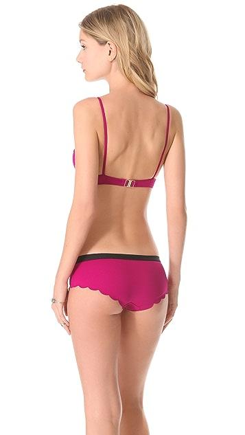 Chloe Swimwear Scalloped Underwire Bikini