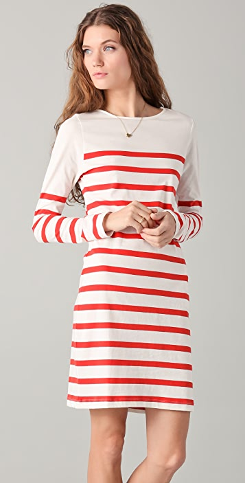 Chinti and Parker Stripe Dress