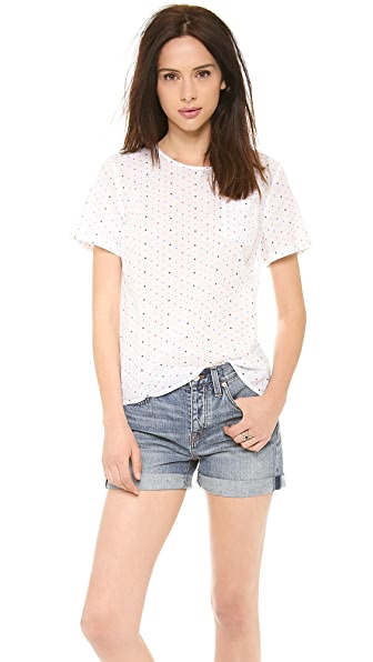 Chinti and Parker Button Back Tee