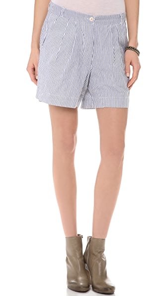 Chinti and Parker Degrade Woven Stripe Shorts