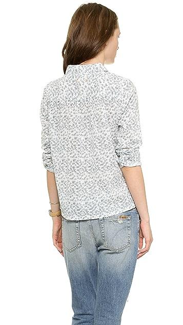 Chinti and Parker Sketchy Star Print Shirt