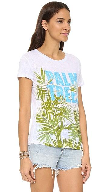 CHRLDR Palm Trees Tee