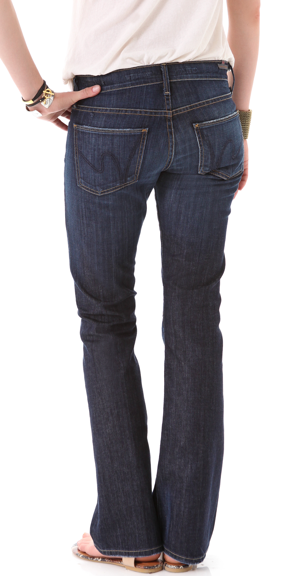 ff0d176eee5 Citizens of Humanity Dita Petite Boot Cut Jeans   SHOPBOP