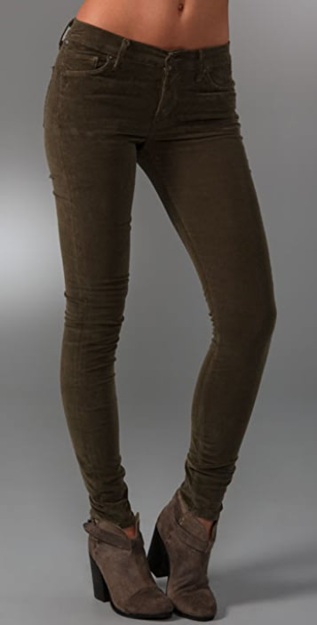 Citizens of Humanity Thompson High Rise Skinny Corduroy Pants