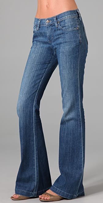 Citizens of Humanity Tribute Low Slung Flare Jeans