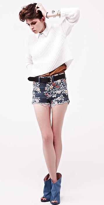 Citizens of Humanity Chloe Floral Cutoff Shorts