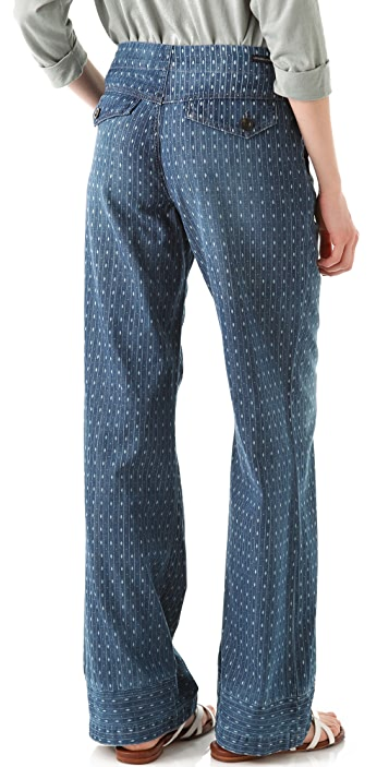 Citizens of Humanity Birdie Drawstring Wide Leg Pants