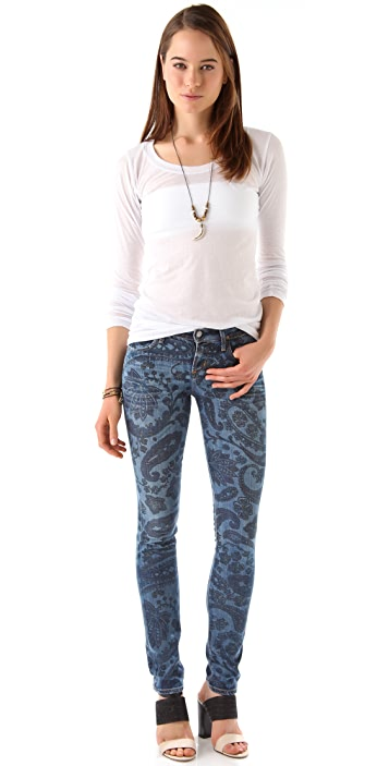 Citizens of Humanity Avedon Morris Paisley Jeans