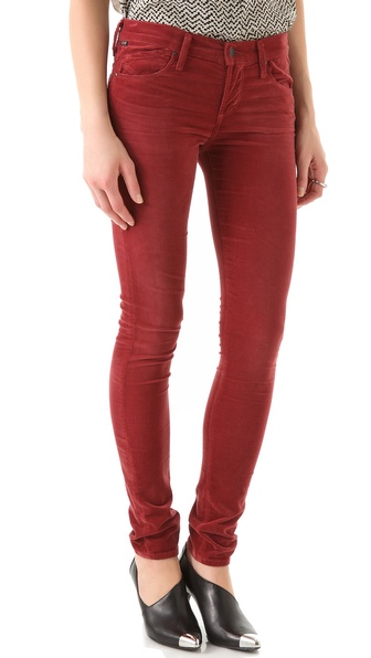 Citizens of Humanity Avedon Velour Skinny Pants