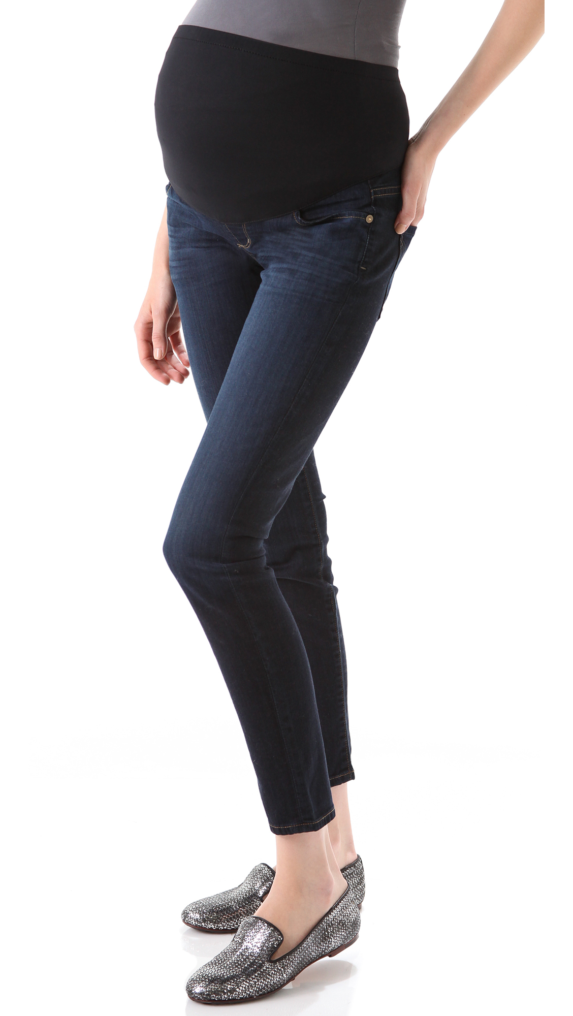 Citizens of Humanity Thompson Skinny Maternity Jeans | 15% off ...