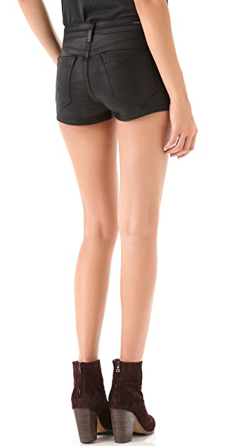 Citizens of Humanity Mandy Coated Denim Shorts