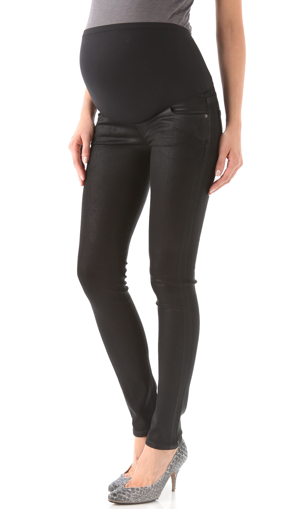 Citizens of Humanity Avedon Coated Maternity Jeans | SHOPBOP
