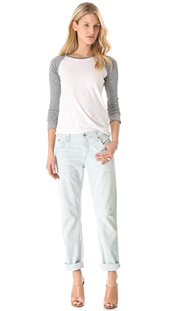 Citizens of Humanity Simone Finnely Stripe Jeans
