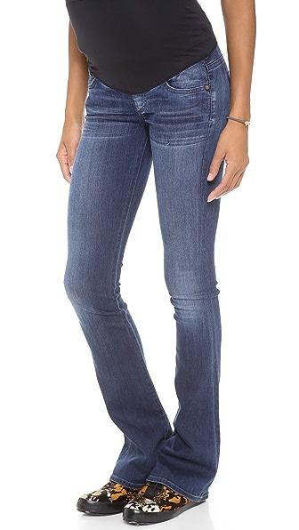 Citizens of Humanity Emmanuel Slim Boot Cut Maternity Jeans