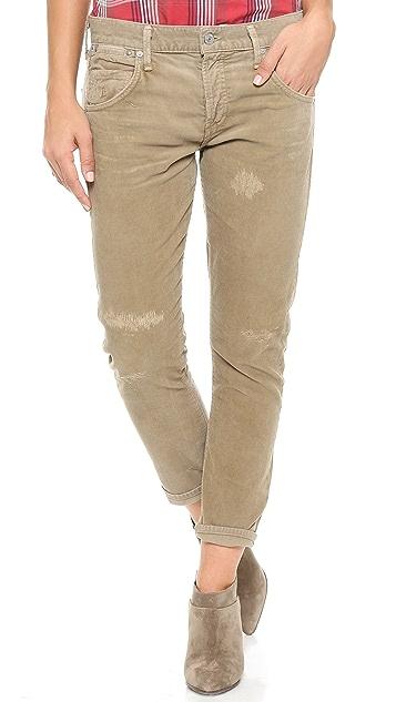 Citizens of Humanity Premium Vintage Selvedge Emerson Corduroy Pants