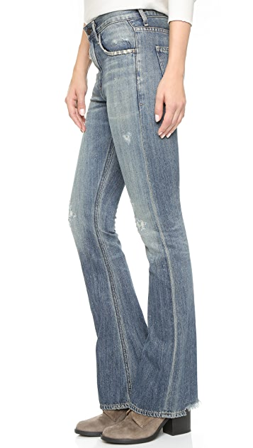 Citizens of Humanity Premium Vintage Sasha Twist Flare Jeans