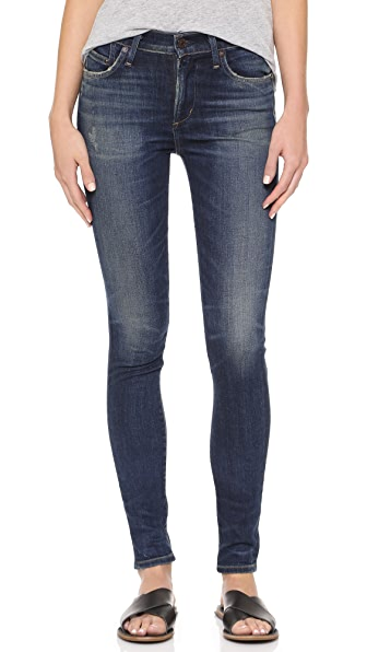 Citizens of Humanity Rocket High Rise Skinny Jeans - Harvest Moon