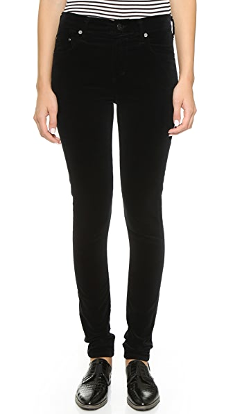 Citizens of Humanity Rocket Velveteen High Rise Skinny Jeans