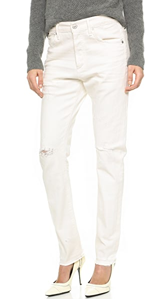Citizens Of Humanity Corey Relaxed Boy Fit Jeans - Distressed Natural at Shopbop
