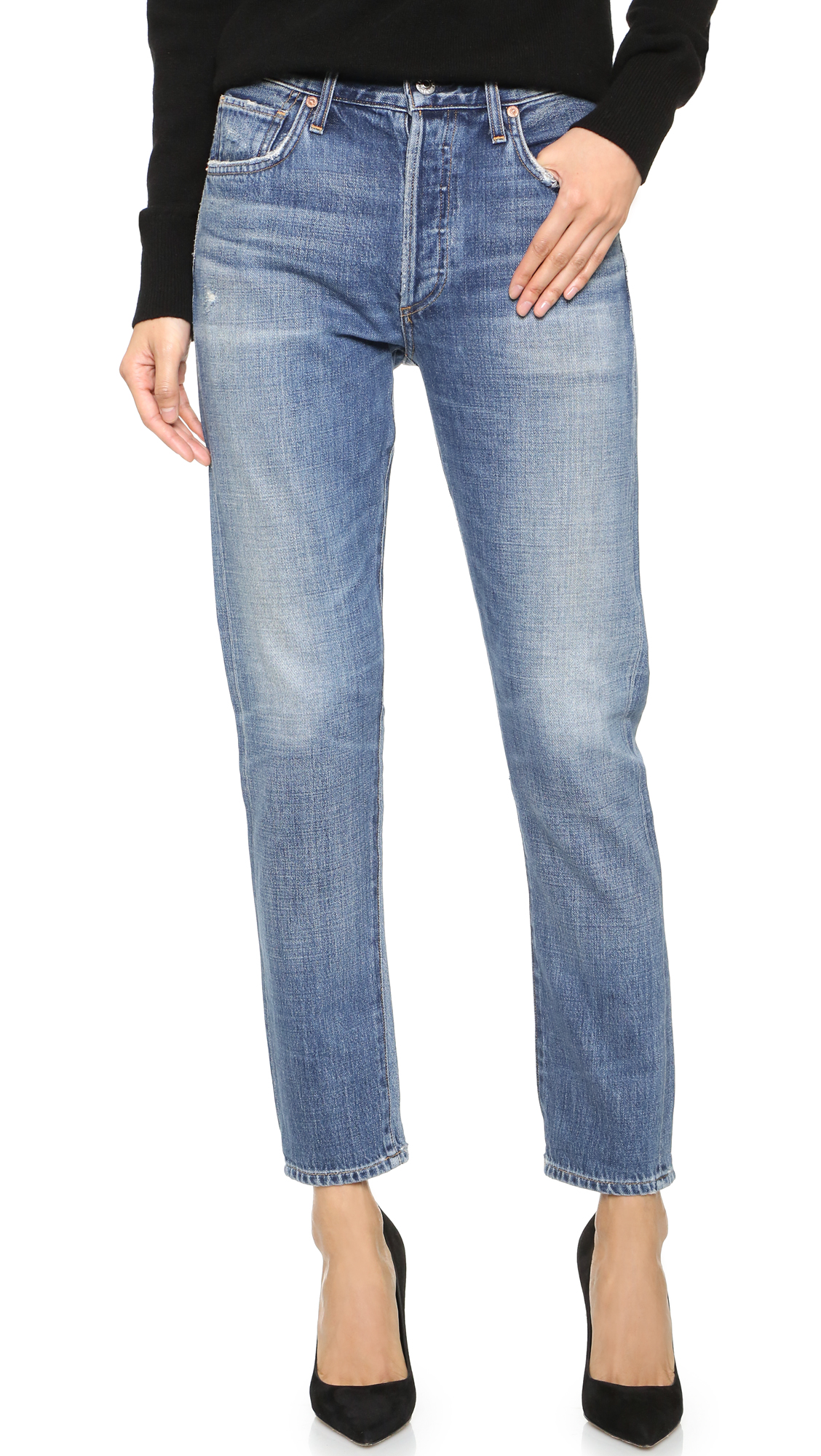 Citizens Of Humanity Liya High Rise Jeans - Fade Out at Shopbop
