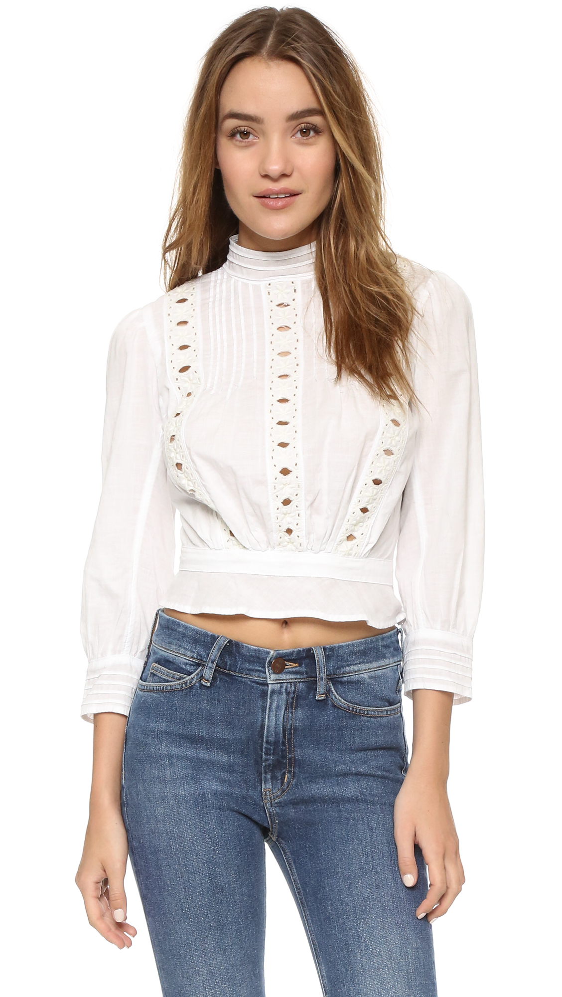 Citizens Of Humanity Josie Blouse - White at Shopbop