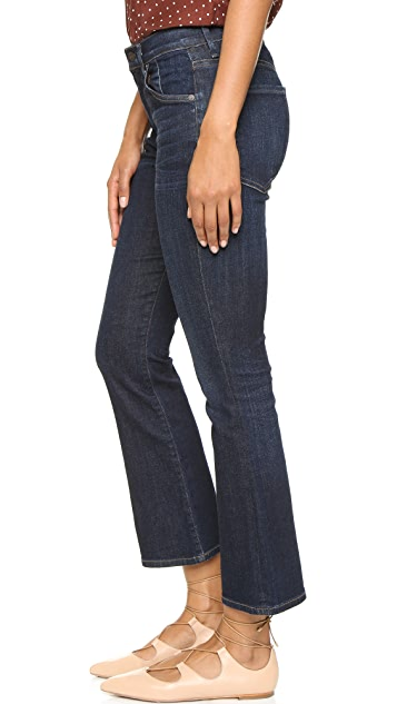 Citizens of Humanity Fleetwood High Rise Crop Flare Jeans