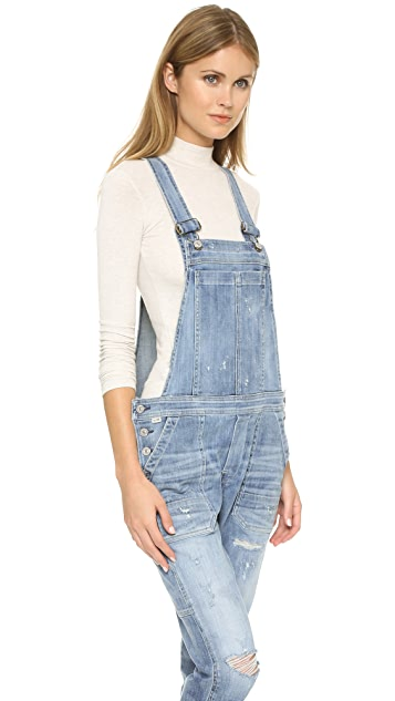 Citizens of Humanity Audrey Slim Cropped Overalls