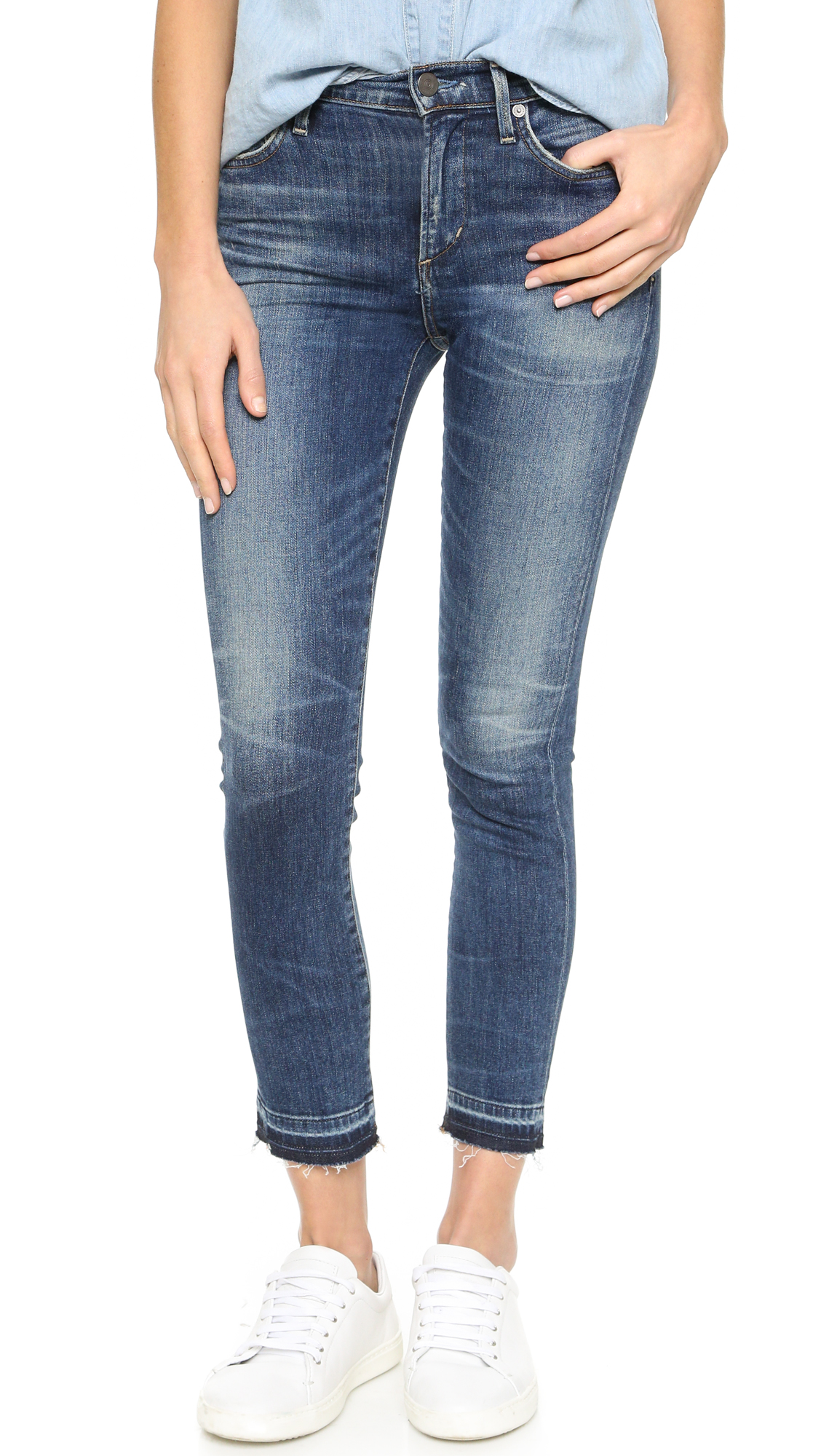 Citizens Of Humanity Rocket Crop High Rise Skinny Jeans - Weekend at Shopbop