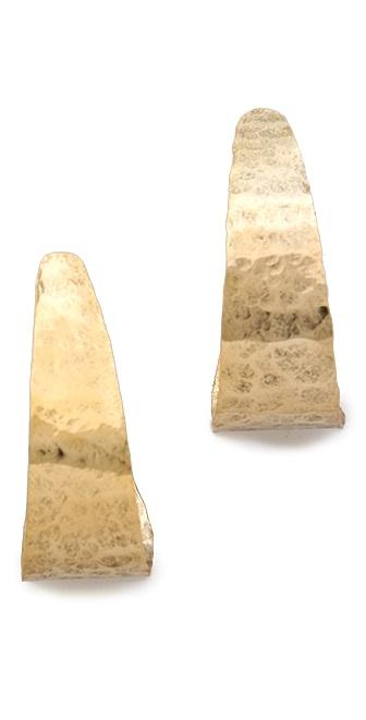 Citrine by the Stones Hoop Earrings