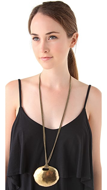 Citrine by the Stones Inti Chain Pendant Necklace