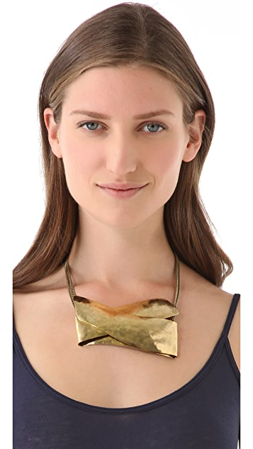 Citrine by the Stones Plie Bib Necklace