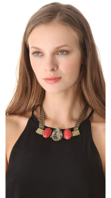 Citrine by the Stones Toltec Necklace