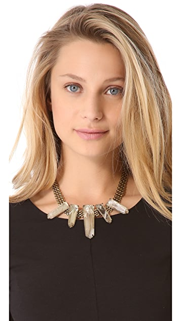 Citrine by the Stones Luz Necklace