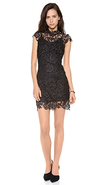 Charlie Jade Cap Sleeve Lace Dress