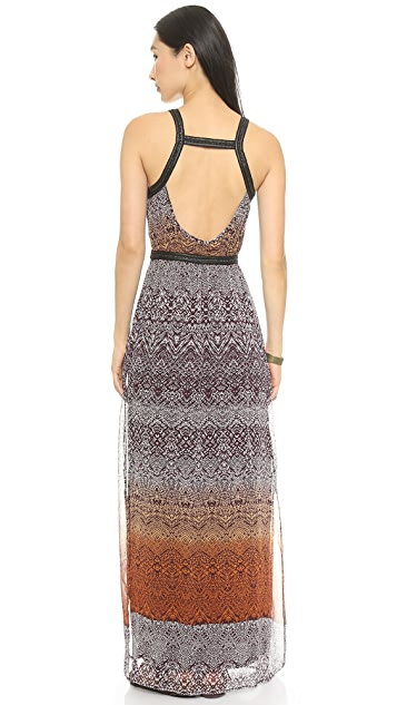 Charlie Jade Print Maxi Dress