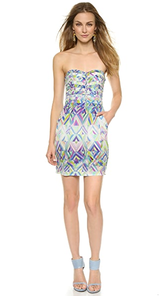 Shop Charlie Jade online and buy Charlie Jade Ginger Dress Blue dresses online