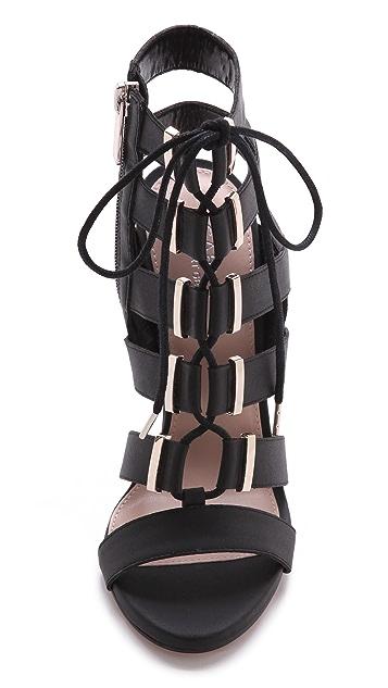 Carvela Kurt Geiger Gladiator Lace Up Sandals