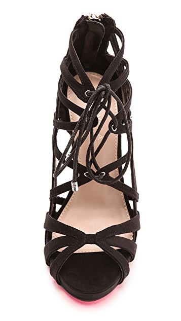 Carvela Kurt Geiger Guard Lace Up Sandals