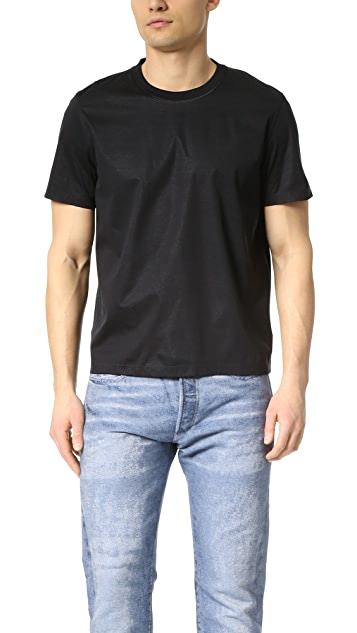 Calvin Klein Collection Lane Bonded Technical Jersey Tee
