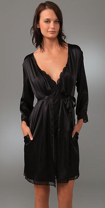 Calvin Klein Underwear Black Robe