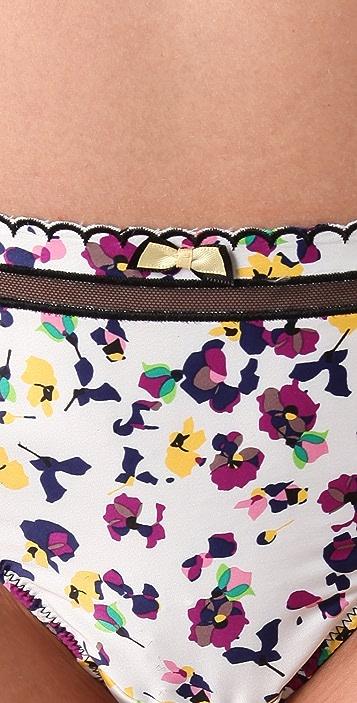 Calvin Klein Underwear Dutch Floral Thong