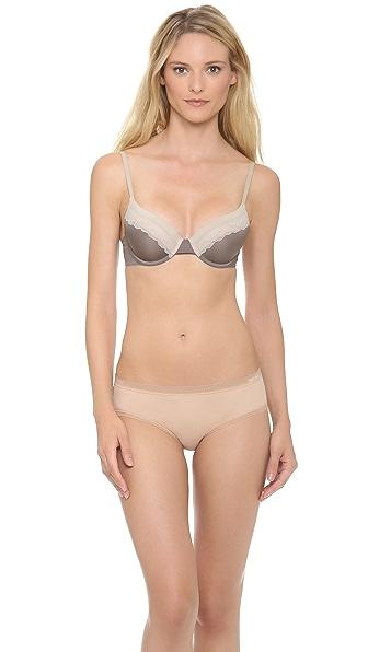 Calvin Klein Underwear Tonal Roses Demi Bra