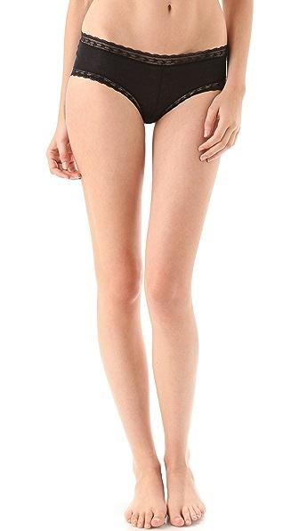 Calvin Klein Underwear Modal & Lace Hipster Briefs