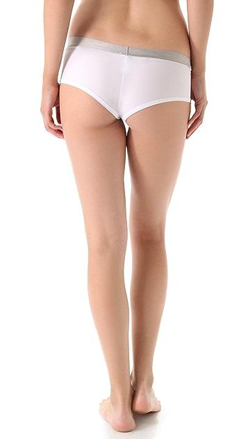Calvin Klein Underwear Metallic Chrome Hipster Briefs