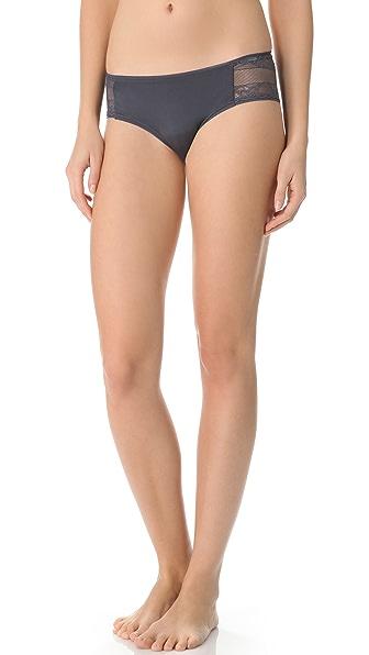 Calvin Klein Underwear Lace & Micro Hipster Briefs