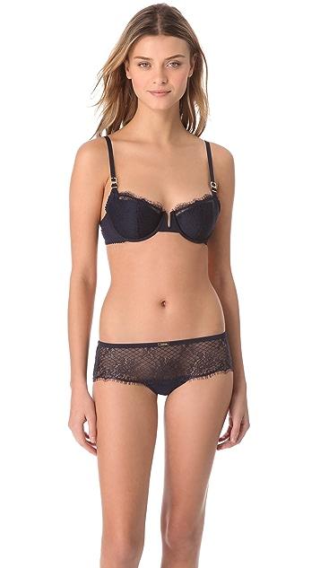 Calvin Klein Underwear Eyelash Chantilly Lace Hipster Briefs