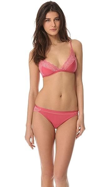 Calvin Klein Underwear Honeysuckle Rose Triangle Bra
