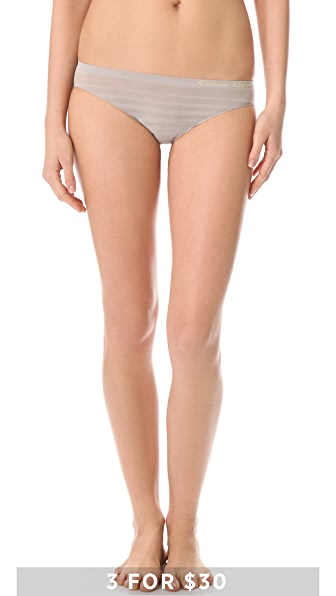 Calvin Klein Underwear Seamless Ombre Bikini Briefs